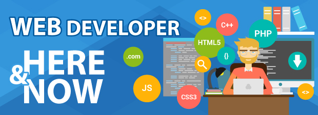 Web Developer — HERE & NOW